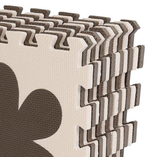 12pcs Baby Crawling Play Mat Foam Environmentally Friendly Thick Folding Mat Carpet Play Mat For Children 4