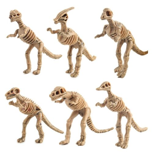 12pcs set Dinosaur Toys Dinosaur skeleton Simulation Model Set Mini Action Figure Jurassic Collection model Toys 1