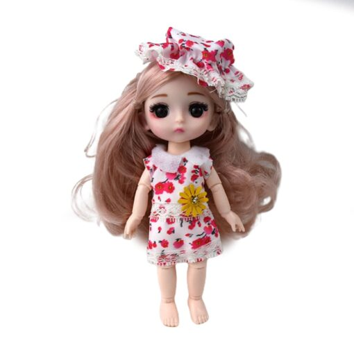 13 Moveable Jointed 16cm 1 8 Dolls Toys BJD Baby Doll Naked Nude Women Body Fashion 3