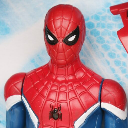 14cm Marvel Toys Spider Man Far from Home Spider Jet with Vehicle Toy PVC Action Figure 2