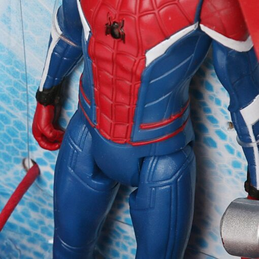 14cm Marvel Toys Spider Man Far from Home Spider Jet with Vehicle Toy PVC Action Figure 3