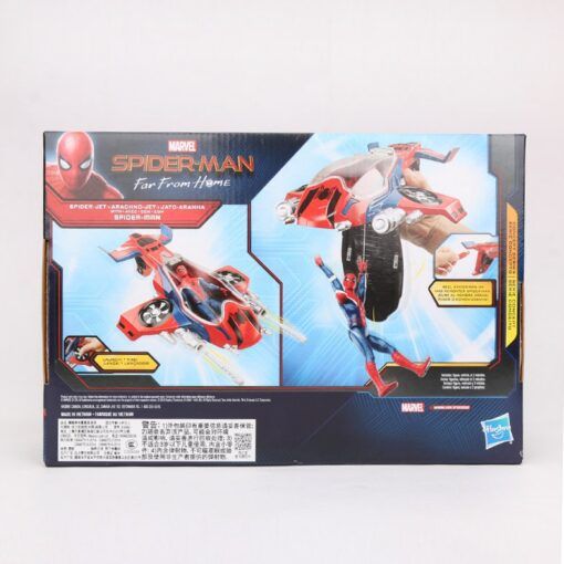 14cm Marvel Toys Spider Man Far from Home Spider Jet with Vehicle Toy PVC Action Figure 5