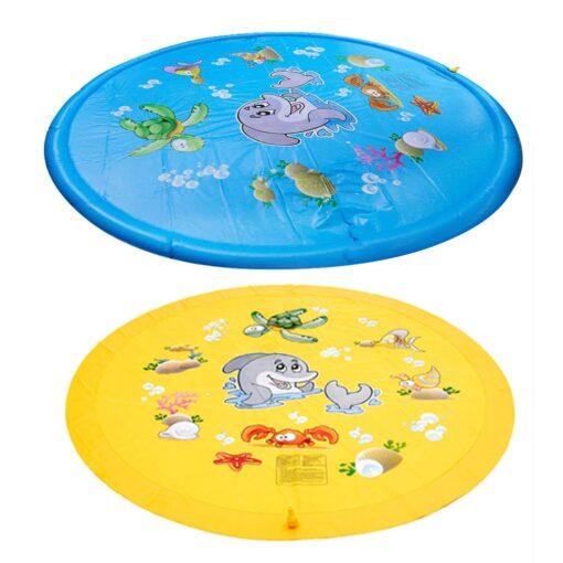 150cm Inflatable Spray Water Mat Lawn Games Pad Sprinkler Play Toys Inflatable Spray Water Cushion Toy 4