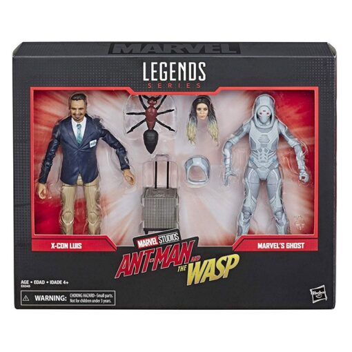 15cm Marvel Legends Series Ant Man The Wasp Movie Inspired X Con Luis Marvel s Ghost 4