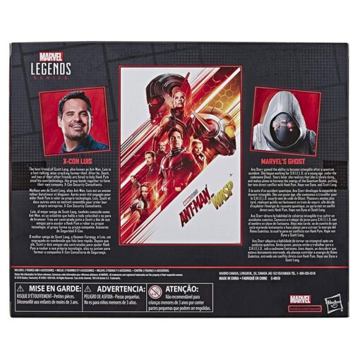 15cm Marvel Legends Series Ant Man The Wasp Movie Inspired X Con Luis Marvel s Ghost 5