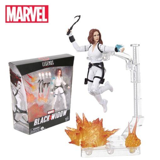 15cm Marvel Toys Hasbro Marvel Black Widow Legends Series 6 inch Collectible Black Widow Action Figure