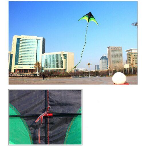 160cm Super Huge Kite Line Stunt Kids Kites Toys Kite Flying Long Tail Outdoor Fun Sports 10
