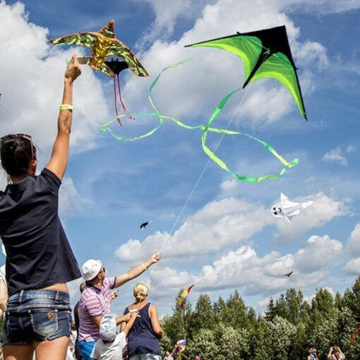 160cm Super Huge Kite Line Stunt Kids Kites Toys Kite Flying Long Tail Outdoor Fun Sports 3