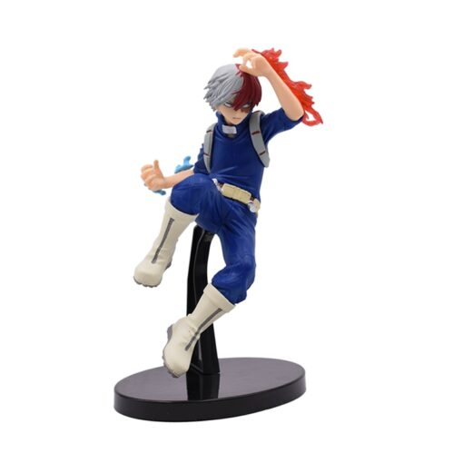 17 20 cm Anime Figure My Hero Academia PVC Smack Izuku Midoriya Shouto Todoroki Katsuki Boku 4