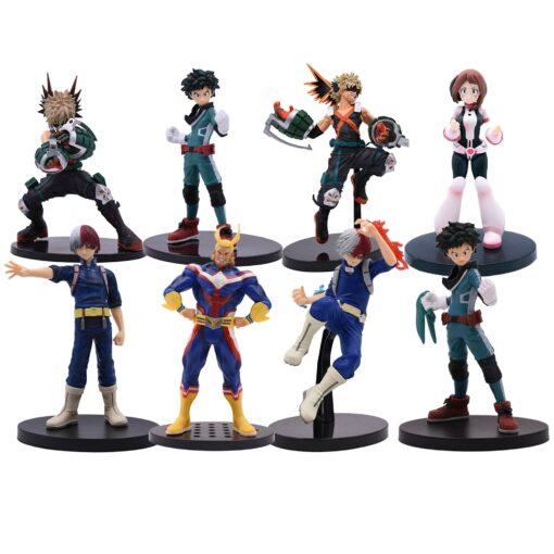 17 20 cm Anime Figure My Hero Academia PVC Smack Izuku Midoriya Shouto Todoroki Katsuki Boku