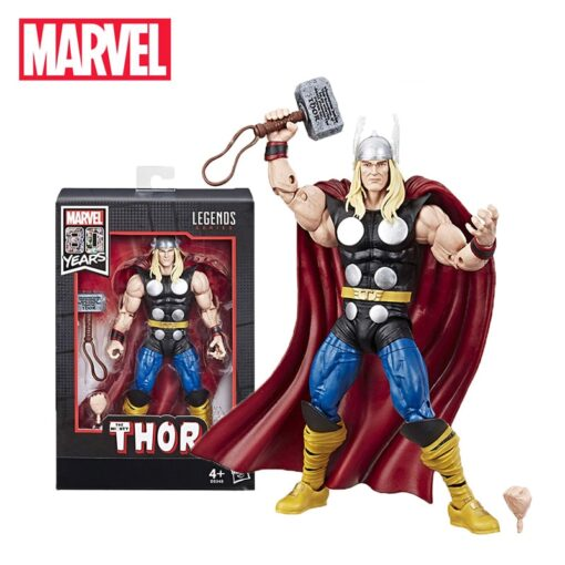 17cm Marvel Comics 80th Anniversary Legends Series Vintage Comic Inspired Thor PVC Action Figure Toy Collectible