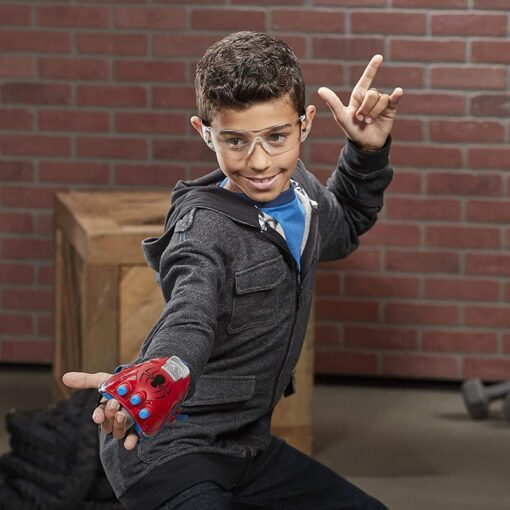 19cm Marvel Toys Hasbro Spider Man Power Moves Marvel Web Blast Web Shooter Dart Launching Toy 2