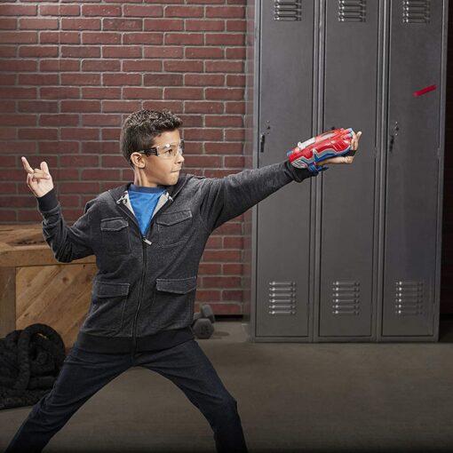 19cm Marvel Toys Hasbro Spider Man Power Moves Marvel Web Blast Web Shooter Dart Launching Toy 3