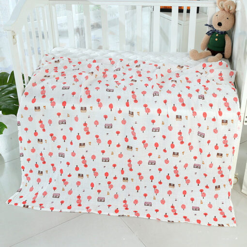 1PC 120cm 110cm Swaddle Blanket Baby Blanket Bamboo Muslin Blanket Baby Blankets Newborn Blanket Swaddle Cotton 1