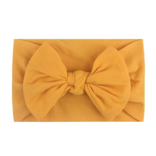 1PC Brand New Newborn Toddler Baby Girls Super Soft Nylon Chiffon Hairband Cute Bow knot Princess 2
