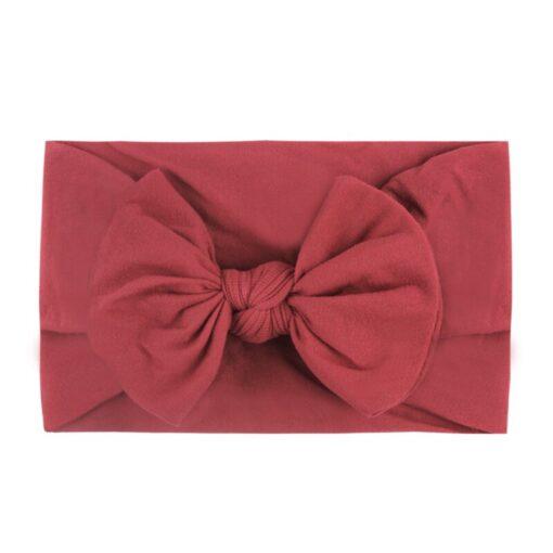 1PC Brand New Newborn Toddler Baby Girls Super Soft Nylon Chiffon Hairband Cute Bow knot Princess 3