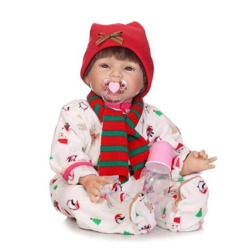 1PC Newest Simulation Reborn Baby Cute Gift Baby Nipple Fresh Food Milk Nibbler Feeder Feeding Safe 5