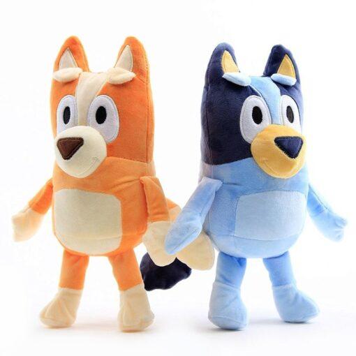 1Pair 28CM Plush Toy Cute Soft Cartoon Dog Family Stuffed Animals Dolls Baby Toys Kawaii Children