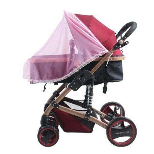 1Pc Baby Stroller Anti Insect Mosquito Full Net Safe Mesh New Baby Carriage Insect Full Cover 2