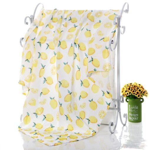 1Pc Muslin 100 Cotton Baby Swaddles Soft Newborn Blankets Bath Gauze Infant Wrap Sleepsack Stroller Cover 3