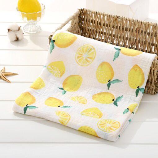 1Pc Muslin Cotton Baby Swaddles Soft Newborn Blankets Bath Gauze Infant Wrap Sleepsack Stroller Cover Play 4