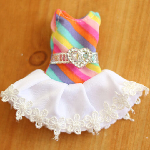 1Pcs 16cm Baby Doll Clothes Fashion Dress Daily Casual Wear Doll Accessories DIY Dress Up Mini 3