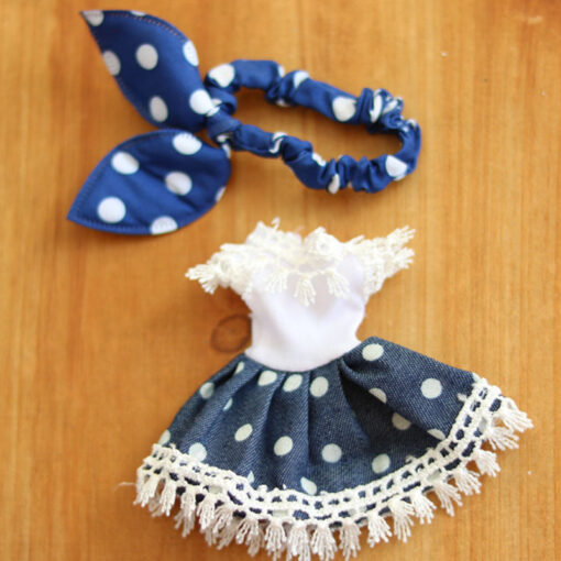 1Pcs 16cm Baby Doll Clothes Fashion Dress Daily Casual Wear Doll Accessories DIY Dress Up Mini 4
