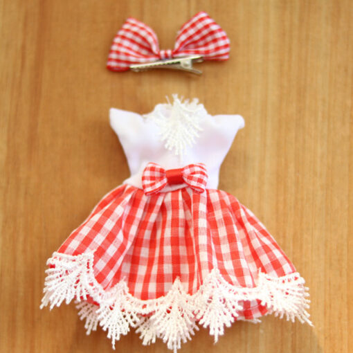 1Pcs 16cm Baby Doll Clothes Fashion Dress Daily Casual Wear Doll Accessories DIY Dress Up Mini 5