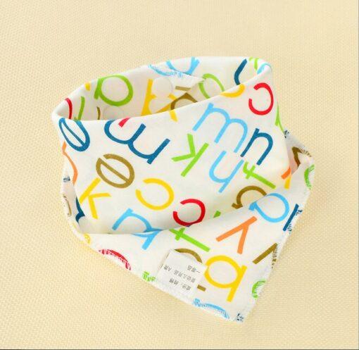 1Pcs Infant Kids Baby Boy Girl Burp Cloths Unisex Feeding Saliva Towel Dribble Triangle Bandana Bibs 1