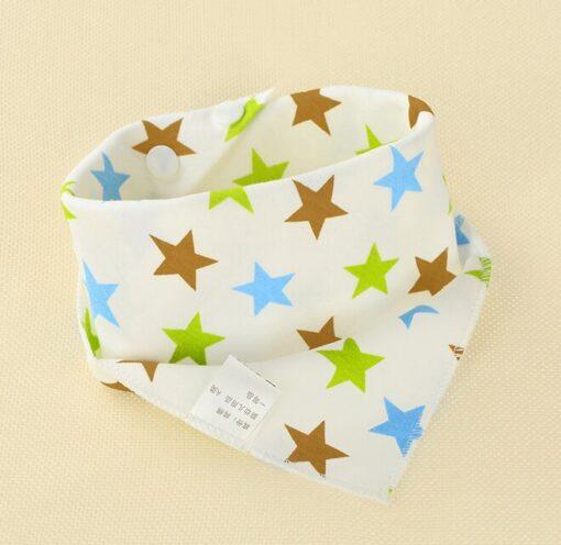 1Pcs Infant Kids Baby Boy Girl Burp Cloths Unisex Feeding Saliva Towel Dribble Triangle Bandana Bibs 2