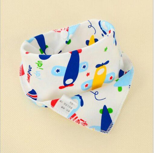 1Pcs Infant Kids Baby Boy Girl Burp Cloths Unisex Feeding Saliva Towel Dribble Triangle Bandana Bibs 3