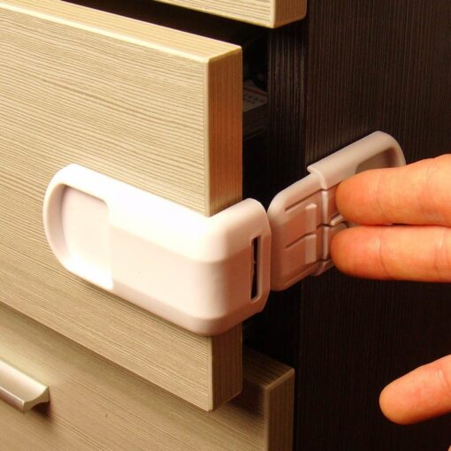 1pc Baby Safety Locks Protection From Children In Cabinets Boxes Lock Drawer Door Terminator Cabinet Right 1