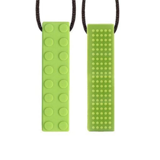 1pcs Baby Teether Silicone Teething Toys Pencil Teether Pen Cap Food Grade Chewable Necklace Pendant Kids 5