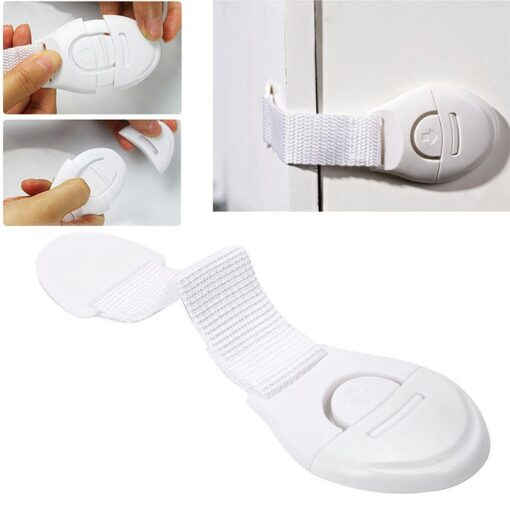 1pcs Children s Special Drawer Lock Without Drilling Double sided Self adhesive Label Is Simple Convenient