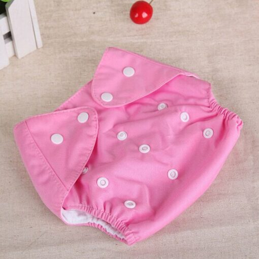 1pcs Reusable Baby Infant Nappy Cloth Diapers Soft Covers Washable Free Size Adjustable Fraldas Winter Summer 1
