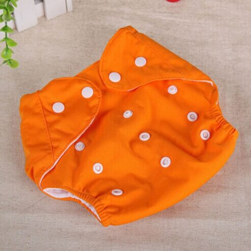 1pcs Reusable Baby Infant Nappy Cloth Diapers Soft Covers Washable Free Size Adjustable Fraldas Winter Summer 2