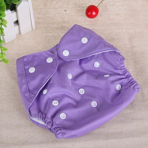 1pcs Reusable Baby Infant Nappy Cloth Diapers Soft Covers Washable Free Size Adjustable Fraldas Winter Summer 5