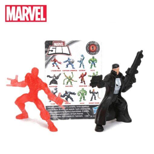 1piece 4 5cm Marvel Toys Blind Bags 500 Collectible Mini Figure Avengers Spiderman Thanos Ironman Hulk