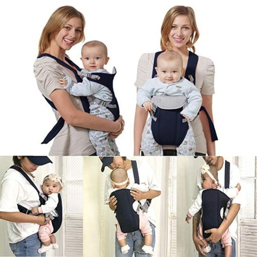 2 30 Months Breathable Front Facing Baby Carrier Comfortable Sling Backpack Pouch Wrap Baby Kangaroo Adjustable 1
