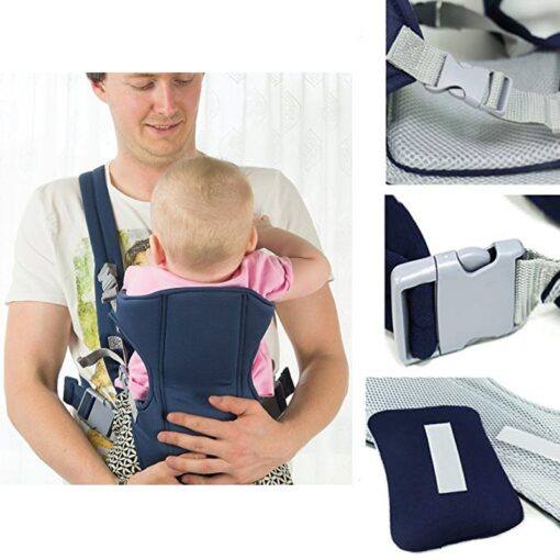 2 30 Months Breathable Front Facing Baby Carrier Comfortable Sling Backpack Pouch Wrap Baby Kangaroo Adjustable 3