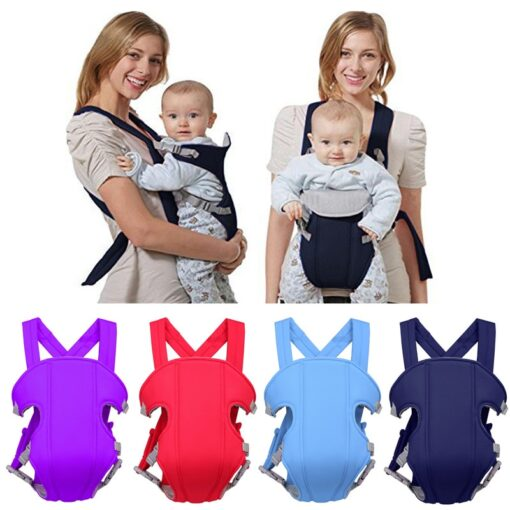 2 30 Months Breathable Front Facing Baby Carrier Comfortable Sling Backpack Pouch Wrap Baby Kangaroo Adjustable