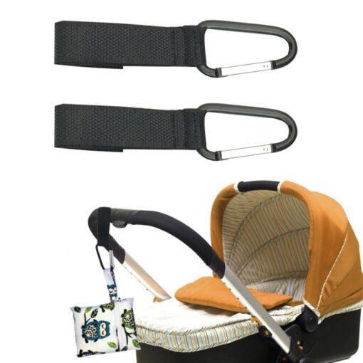 2 3pcs Stroller Hooks Wheelchair Stroller Pram Carriage Bag Hanger Hook Infant Strollers Shopping Bag Clip 2