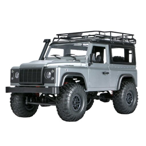 2 4G Four wheel Drive Climbing Vehicle 4WD Rechargeable Battery Crawler 1 12 LED Lights Vehicle 1