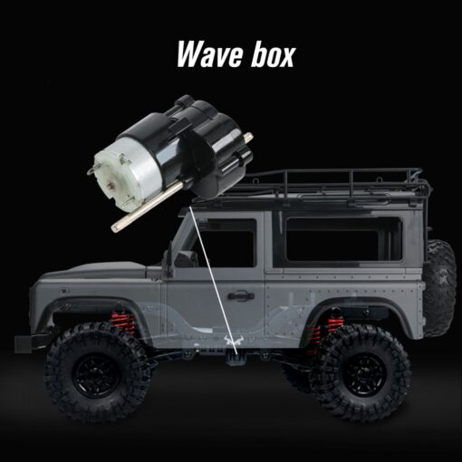 2 4G Four wheel Drive Climbing Vehicle 4WD Rechargeable Battery Crawler 1 12 LED Lights Vehicle 2