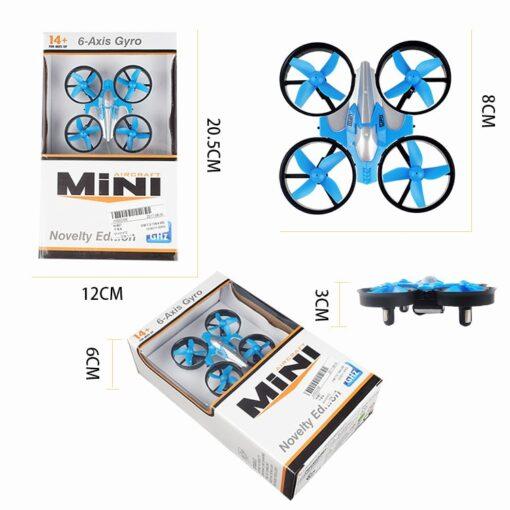2 4G Mini Quadcopter Headless JJRC H36 H36F Mini Drone 2 4G 4CH 6 Axis Speed 1