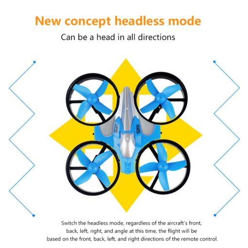 2 4G Mini Quadcopter Headless JJRC H36 H36F Mini Drone 2 4G 4CH 6 Axis Speed 2
