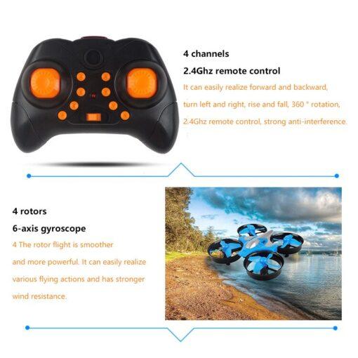2 4G Mini Quadcopter Headless JJRC H36 H36F Mini Drone 2 4G 4CH 6 Axis Speed 3