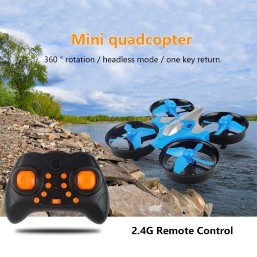 2 4G Mini Quadcopter Headless JJRC H36 H36F Mini Drone 2 4G 4CH 6 Axis Speed