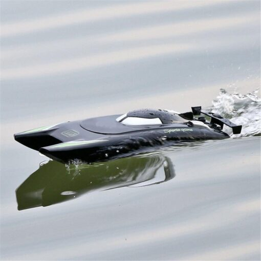 2 4G Remote Control Boat Speedboat Yacht Children Competition Boat Water Toy 30km Per Hour Waterproof 5