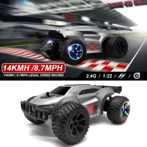 2 4G remote control high speed four wheel drive drift climbing off road rc car toys 1